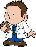 Illustration of doctor Royalty Free Stock Photography