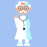 Illustration of a doctor Stock Image
