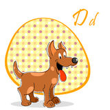 Illustration of dog Stock Photography