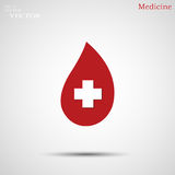 Illustration of Donate blood concept with abstract blood drop for World blood donor day-June 14. Of Donate blood concept with abstract blood drop for World Royalty Free Stock Image