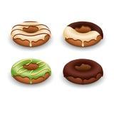 Illustration of donut Royalty Free Stock Photography