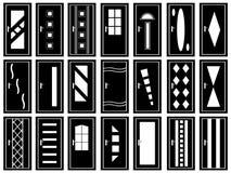 Illustration Of Doors Royalty Free Stock Photos