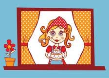 Illustration douce à la maison de saveur Image libre de droits