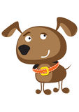 Illustration drôle de chien Illustration Stock