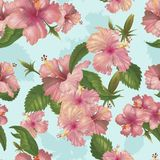 Illustration drawing of Watercolor flower Royalty Free Stock Photo
