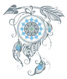 Illustration of dream catcher Royalty Free Stock Photo