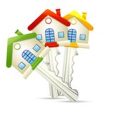 Dream Home key Royalty Free Stock Photography