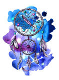 Illustration of dreamcatcher Royalty Free Stock Images