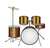 Illustration of Drum Kit Royalty Free Stock Photos