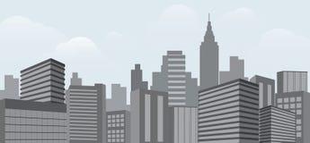 Illustration du bâtiment architectural illustration de vecteur