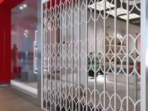 Illustration du concept 3d, conception intérieure d'un magasin d'habillement illustration de vecteur