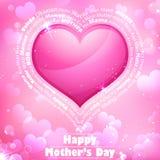 Le jour de mère heureux Images stock