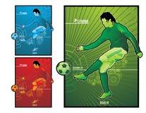 Illustration du football du football Photographie stock libre de droits