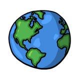 Illustration du monde illustration libre de droits