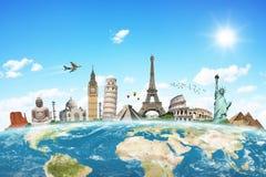 Illustration du monument célèbre du monde Photos libres de droits