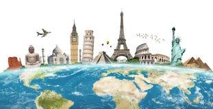 Illustration du monument célèbre du monde Image stock