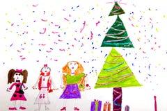 Illustration du `s d'enfant Images stock
