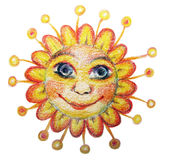Illustration du soleil   Images stock
