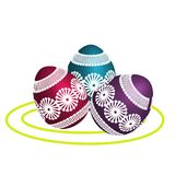Illustration of Easter egg . royalty free illustration