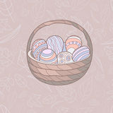 Illustration of Easter holiday Royalty Free Stock Images
