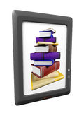 Illustration of ebook Stock Photos