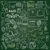 Illustration of education and back to school, knowledge design e Stock Photography