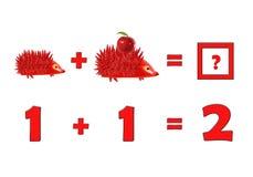 Illustration of Education Mathematics for Preschool Children Stock Photography
