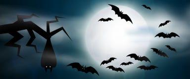 Illustration effrayante de Halloween Images libres de droits