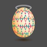 Illustration of the egg Royalty Free Stock Photo