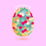 Illustration of the egg Royalty Free Stock Photos