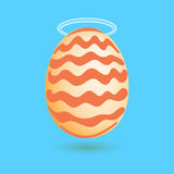 Illustration of the egg Stock Photography
