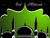 Illustration for eid mubarak. Eid celebration background, vector illustration royalty free illustration