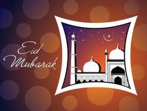 Illustration for eid mubarak celebration Royalty Free Stock Images