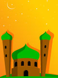 Illustration for eid mubarak celebration Stock Photography