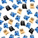 Illustration einer netten Katze Lizenzfreie Stockfotos