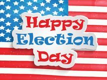 Illustration of election day background Stock Photography