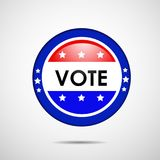 Illustration of election day background Stock Photo