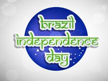 Illustration of Brazil Independence Day Background. Illustration of elements of Brazil Independence Day Background Stock Photo
