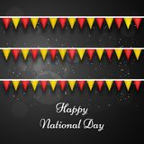 Illustration of China National Day background Royalty Free Stock Photos