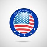 Illustration of Columbus Day Background Stock Images