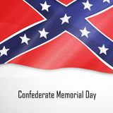 Illustration of Confederate Memorial Day background. Illustration of elements of Confederate Memorial Day background Stock Image