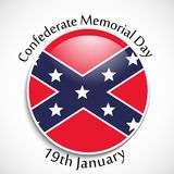 Illustration of Confederate Memorial Day background. Illustration of elements of Confederate Memorial Day background Stock Photography