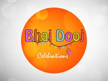 Illustration of Hindu Festival Bhai Dooj Background. Illustration of elements of Hindu Festival Bhai Dooj Background Stock Photography