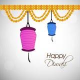 Illustration of hindu festival Diwali background. Illustration of elements of hindu festival Diwali background Royalty Free Stock Image