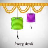 Illustration of hindu festival Diwali background. Illustration of elements of hindu festival Diwali background Royalty Free Stock Images