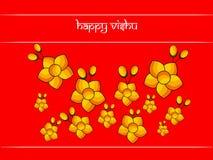 Illustration of Hindu festival Vishu Background. Illustration of elements of Hindu festival Vishu Background. Celebrated in the Indian state of Kerala Stock Image