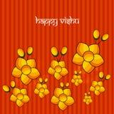 Illustration of Hindu festival Vishu Background. Illustration of elements of Hindu festival Vishu Background. Celebrated in the Indian state of Kerala Stock Images
