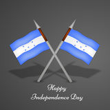 Illustration of Honduras Independence Day background. Illustration of elements of Honduras Independence Day background stock illustration