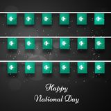 Illustration of Macau National Day Background. Illustration of elements of Macau National Day Background Stock Image