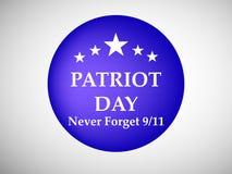 Illustration of Patriot Day background. Illustration of elements of Patriot Day background Royalty Free Stock Photo